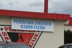 "The ""Penticton Amateur Radio Club"" outdoor sign"